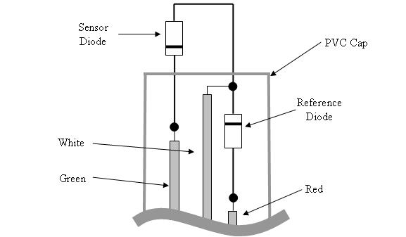 Cutaway View of the Diode Probe
