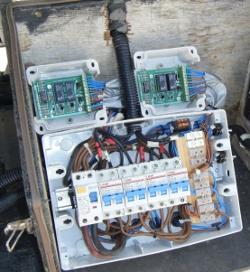 View of Electronic Controls