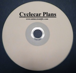 Cyclecar Plans on CD-ROM