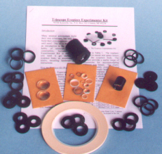 Ramsden telescope eyepiece kit for experimenting