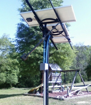 Solar Tracker using Linear Actuator