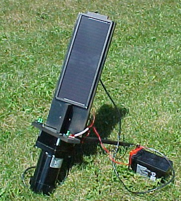 Solar tracking for a Solar Cell Panel