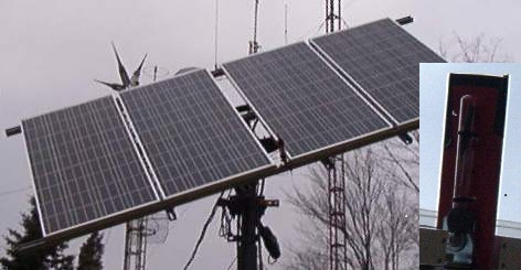 Tracking Solar Panel Array