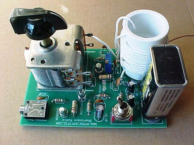 Assembled Shortwave Radio Kit