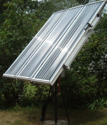 Tracking Solar Water Heater